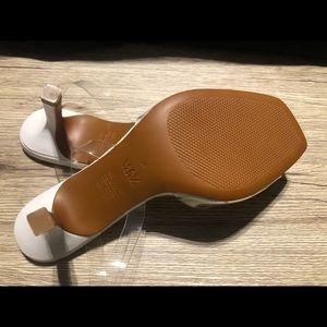 Clear strap Zara sandals